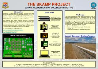THE SKAMP PROJECT SQUARE KILOMETRE ARRAY MOLONGLO PROTOTYPE