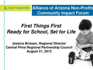 Alliance of Arizona Non-Profits Community Impact Forum