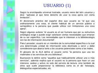 USUARIO (1)
