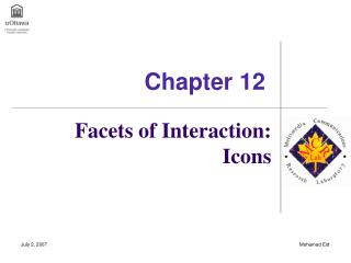 Facets of Interaction: Icons