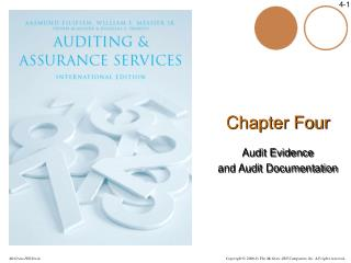 Chapter Four Audit Evidence  and Audit Documentation