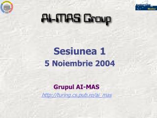 Sesiunea 1 5 Noiembrie 2004