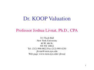 Dr. KOOP Valuation
