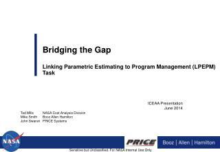 ICEAA Presentation June 2014