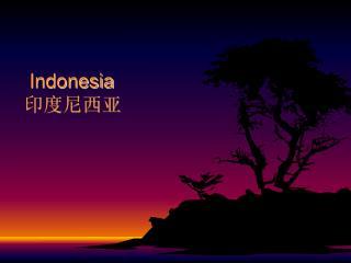 Indonesia 印度尼西亚