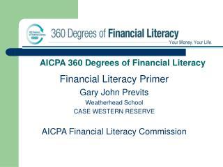 AICPA 360 Degrees of Financial Literacy