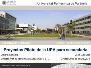 Universitat Polit cnica de Val ncia