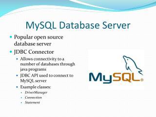 MySQL  Database Server
