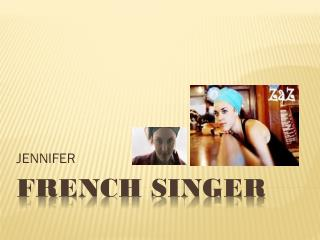 French Singer