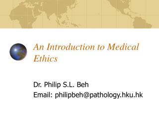 An Introduction to Medical Ethics