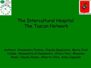 The Intercultural Hospital  The Tuscan Network