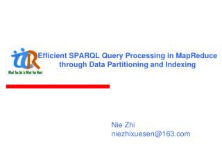 Efficient SPARQL Query Processing in MapReduce through Data Partitioning and Indexing