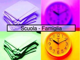 Scuola - Famiglia