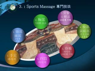 3 .  1  Sports Massage  專門技法