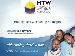 Employment & Training Strategies
