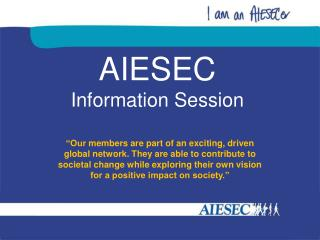 AIESEC Information Session