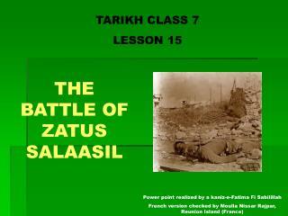 TARIKH CLASS 7 LE SSON 15