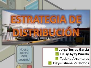 ESTRATEGIA DE DISTRIBUCIÓN