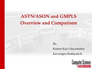 ASON_GMPLS. ppt - PowerPoint Presentation