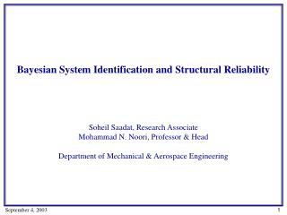 Bayesian System Identification and Structural Reliability