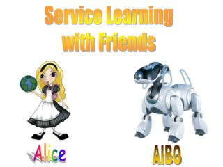 Service Learning with Friends