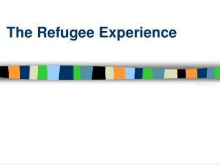 The Refugee Experience