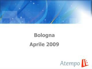 Bologna  Aprile 2009