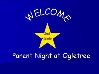 Parent Night at Ogletree