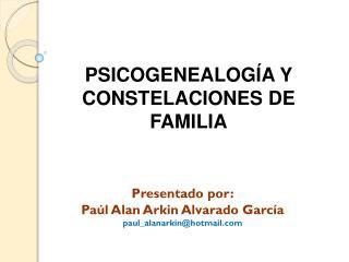 PSICOGENEALOGÍA Y CONSTELACIONES DE FAMILIA