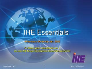 IHE Essentials