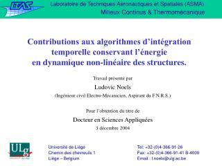 Laboratoire de Techniques Aéronautiques et Spatiales (ASMA)