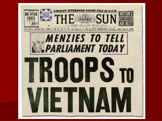 Australia and the  Vietnam War