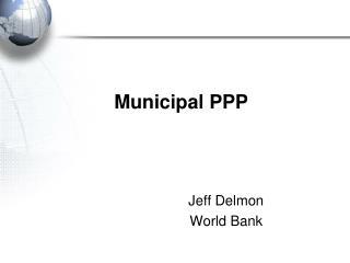 Municipal PPP