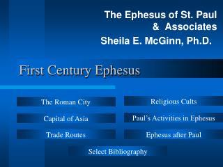 First Century Ephesus