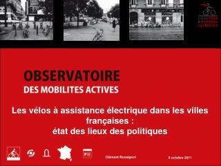 Les vélos à assistance électrique dans les villes françaises : état des lieux des politiques