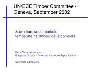 UN/ECE Timber Committee - Geneva, September 2002