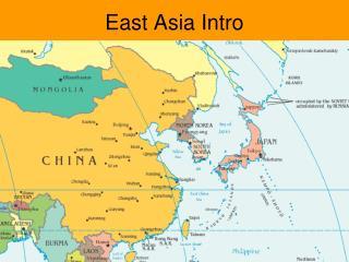 East Asia Intro