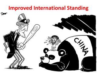 Improved International Standing