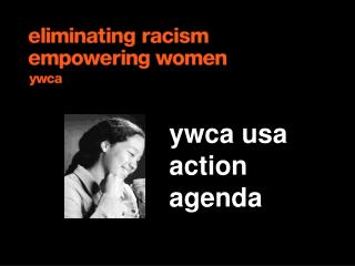 ywca usa  action agenda