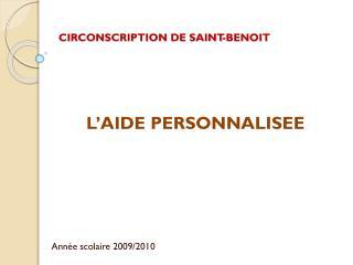 CIRCONSCRIPTION DE SAINT-BENOIT
