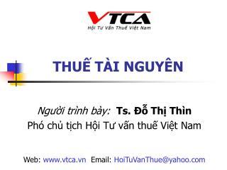 THU T I NGUY N