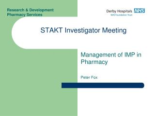 STAKT Investigator Meeting