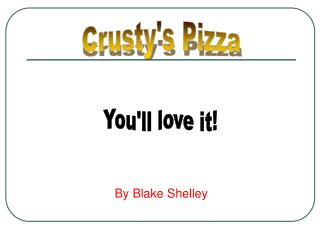 Crustys Pizza