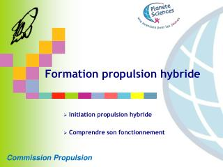 Formation propulsion hybride