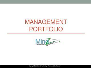 Management Portfolio