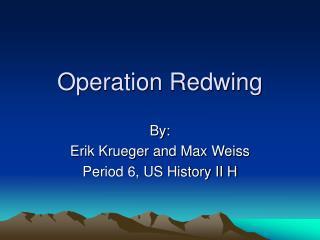 Operation Redwing
