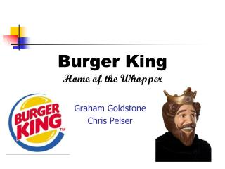 Burger King Home of the Whopper
