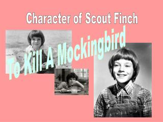 Character of Scout Finch
