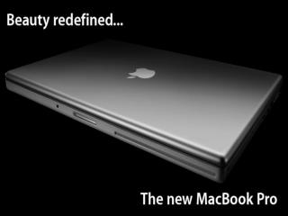 The Apple MacBook Pro