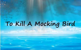 T o Kill A Mocking Bird